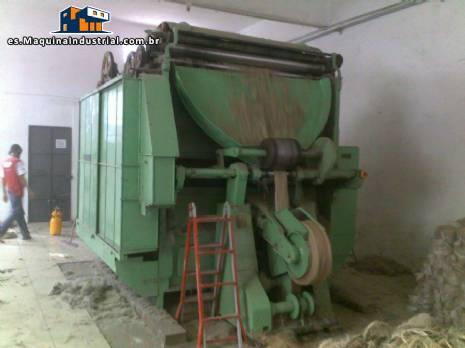 Equipo para procesar fibras naturales o sintéticas 150 kg hora