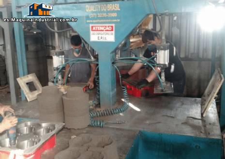Máquina de moldeo y la recuperación de la caja fría arena