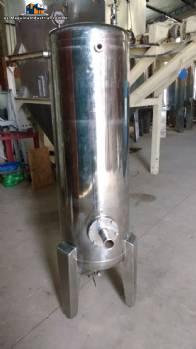 Tanque hidroneumático en acero inoxidable Zegla