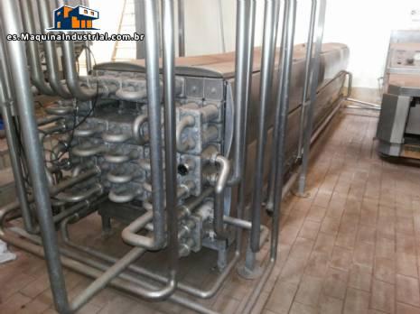 Máquina de envasado de leche Tetra Pak