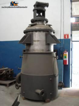 Reactor de acero inoxidable L 1250