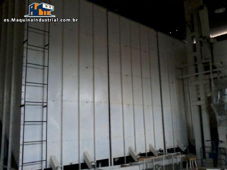 Caja de metal para almacenamiento / clasificador de grano