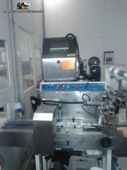 Máquina de embalaje del paquete de flujo Emblamaq