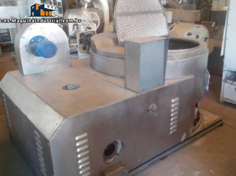 Secador de grano de asador de horno en acero inoxidable
