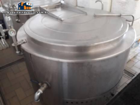 Máquina de cocina de 500 litros Topema