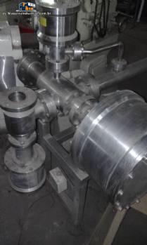 Sistema de transporte de fluidos con bomba centrífuga de acero inoxidable