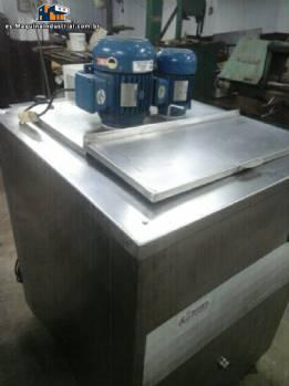 Pasteurizador para jarabes de helado 150 L marca Refrigas