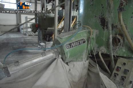 Mezclador industrial para PVC Miotto