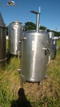 Tanque de almacenamiento en acero inoxidable 600 L
