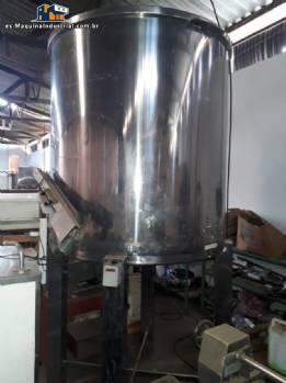 Tanque de acero inoxidable 2600 L