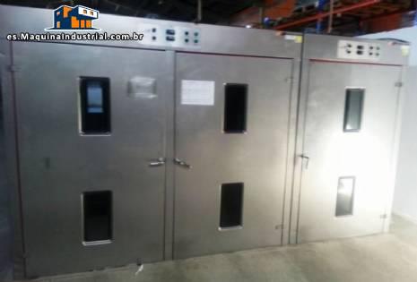Crecimiento de invernadero industrial automática