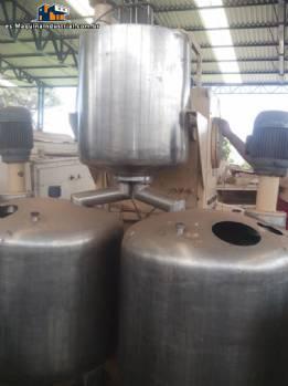 Mezclador industrial para azúcar, glucosa de caramelos blandos o duros