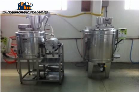 Línea para la producción de base de soya fermentados