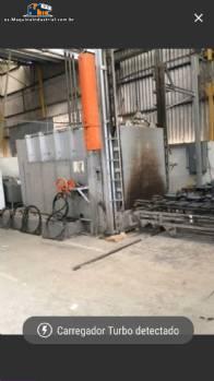 Horno industrial para esmaltar partes Durr