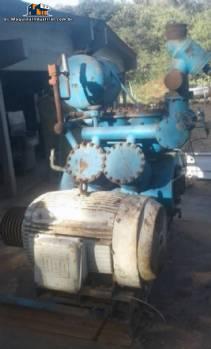 Compresor con 125 caballos de fuerza Madef